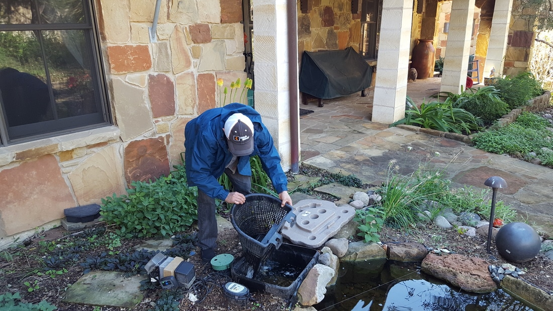 We provide monthly pond maintenance in Central Texas and the Austin area